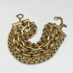 Catherine Popesco France Multi Chain Bracelet